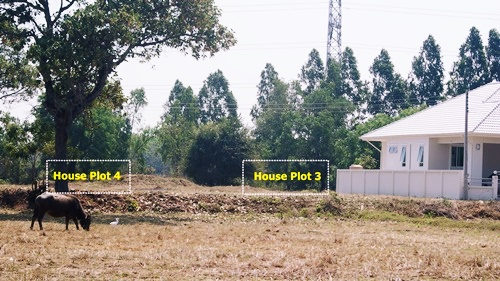 Three Building Plots in a Beautiful Rural Location near Buriram Centre