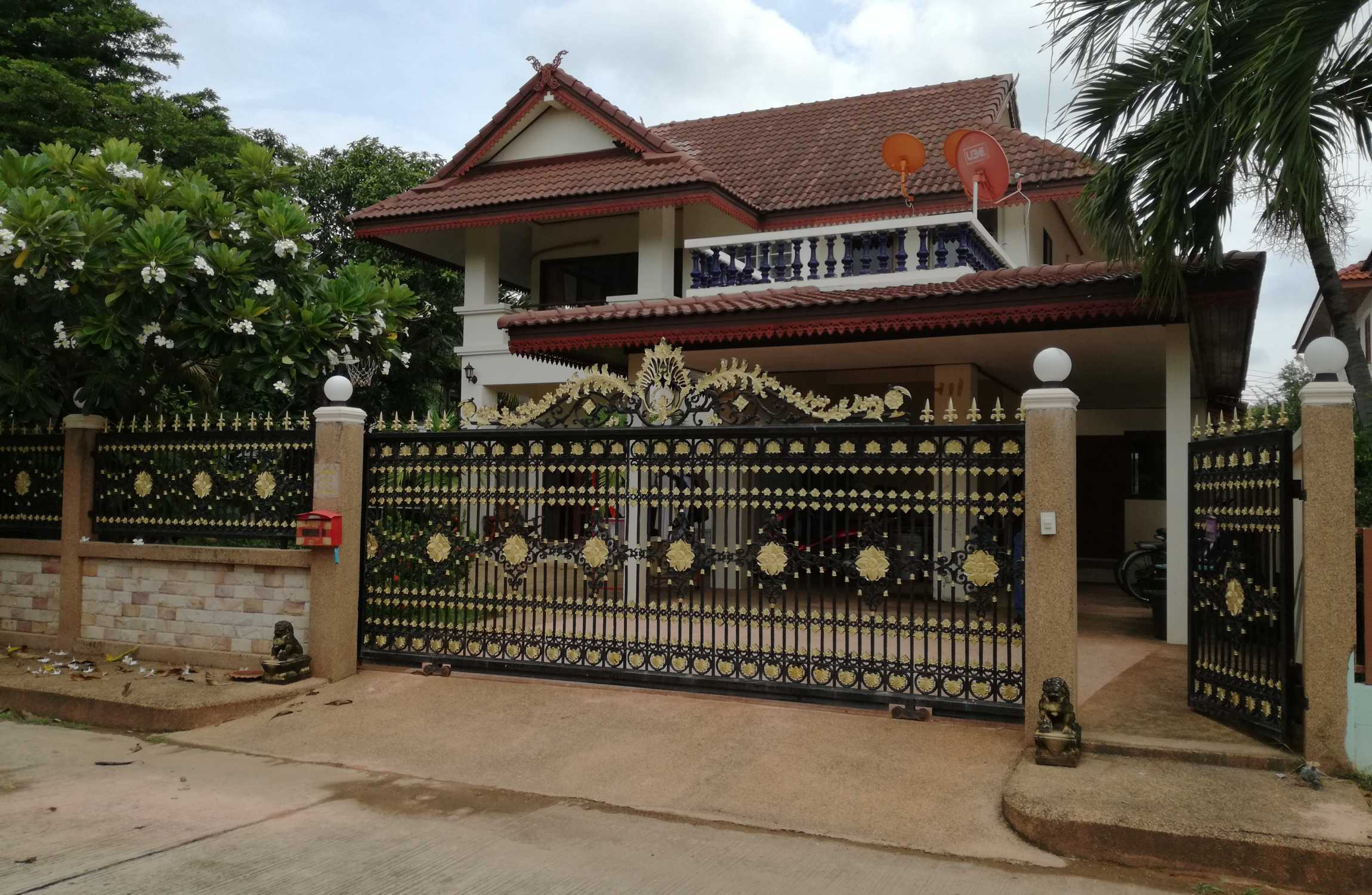 Fully Furnished Detached Two Story House in Surin