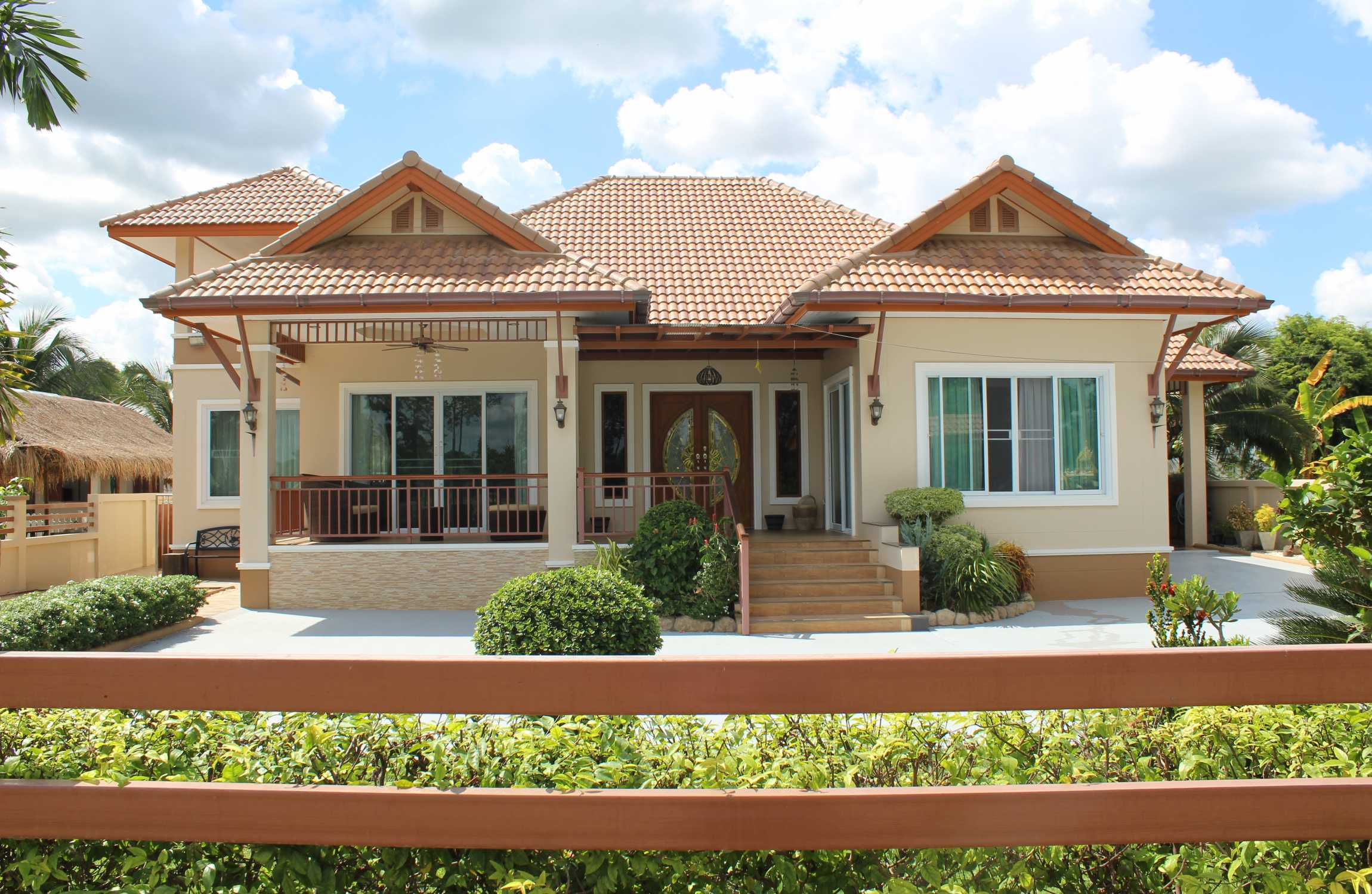 A Recently Built House with New Furniture Close to Buriram Center