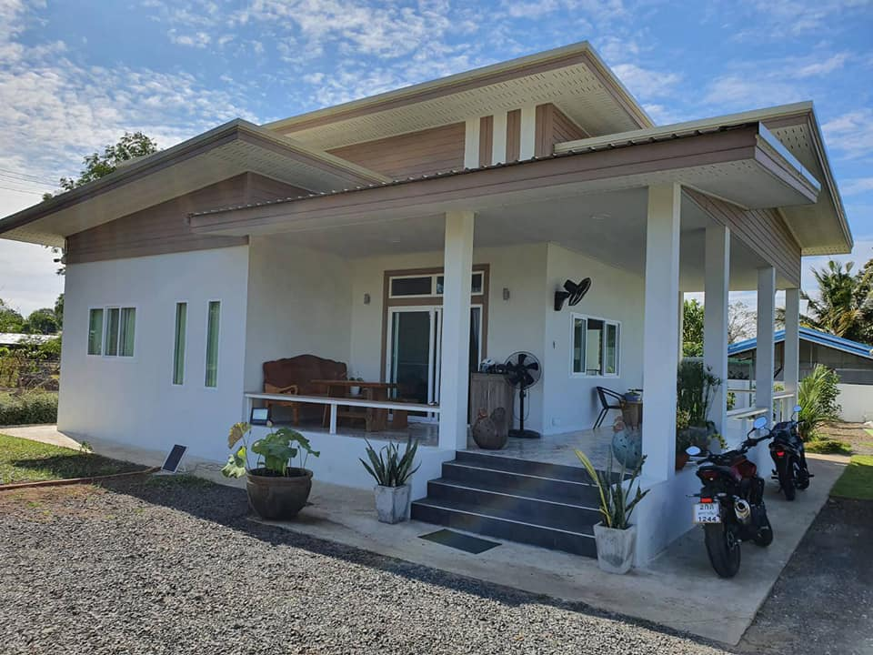 New-Built Bungalow on 1 Rai in Buriram