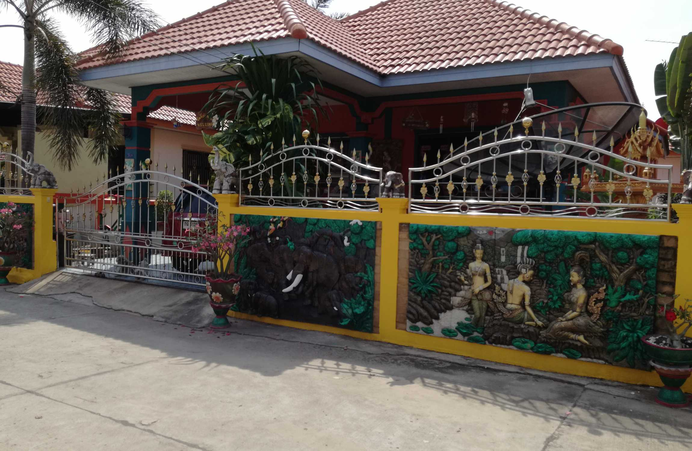 A Fully Furnished Detached Bungalow near Buriram Centre