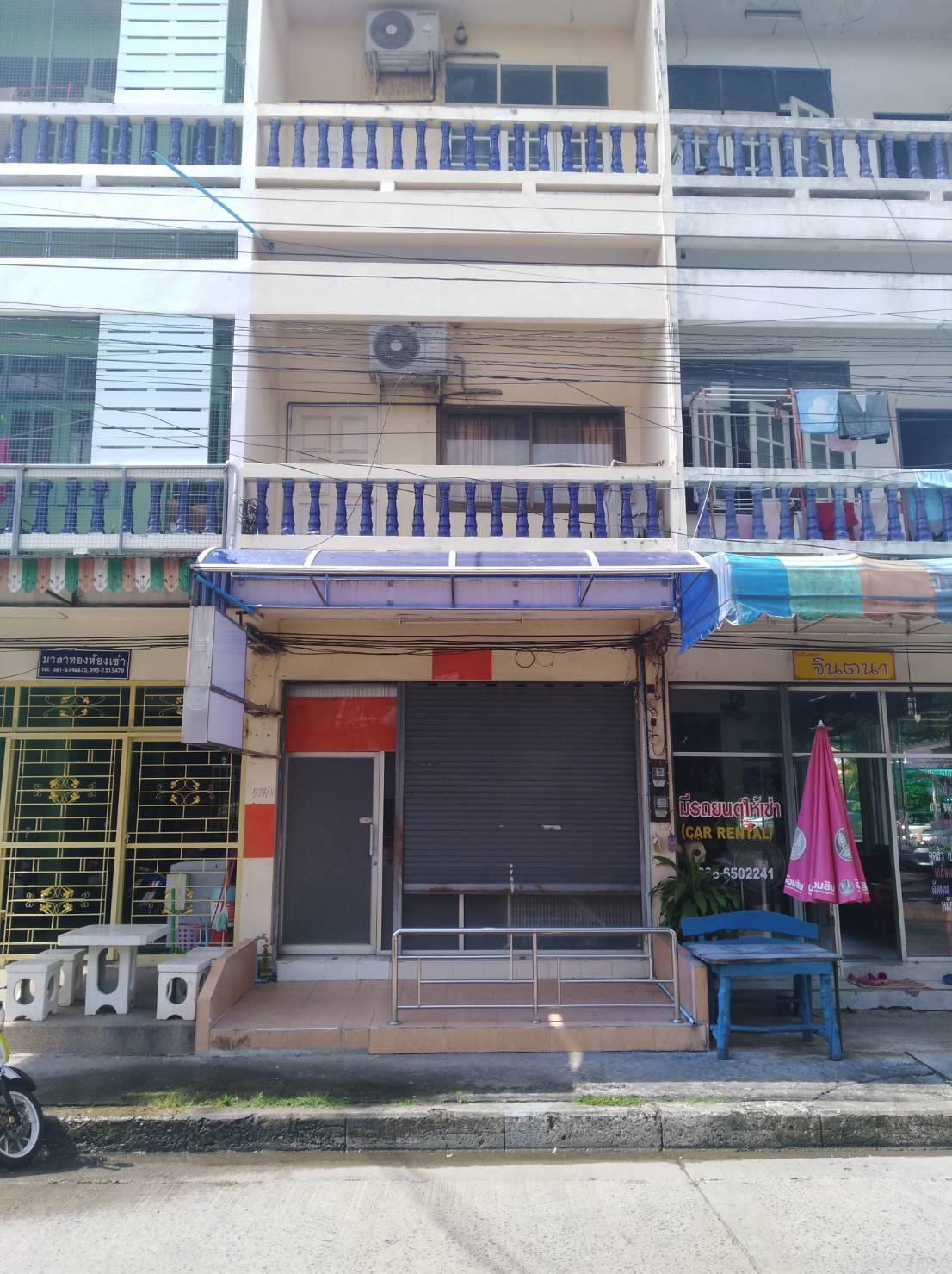 Commercial Townhouse Building for Rent Buriram Centre